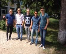 Tinerii din Adjud!