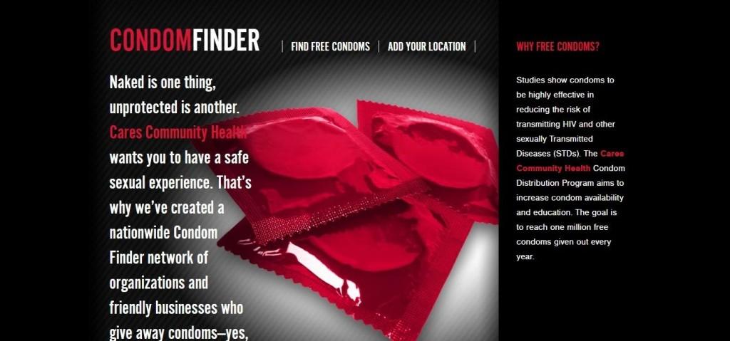 condom finder